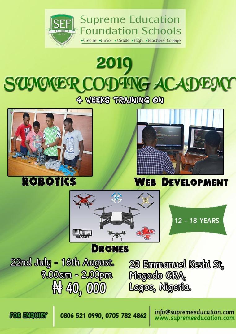 2019 Summer Coding Academy