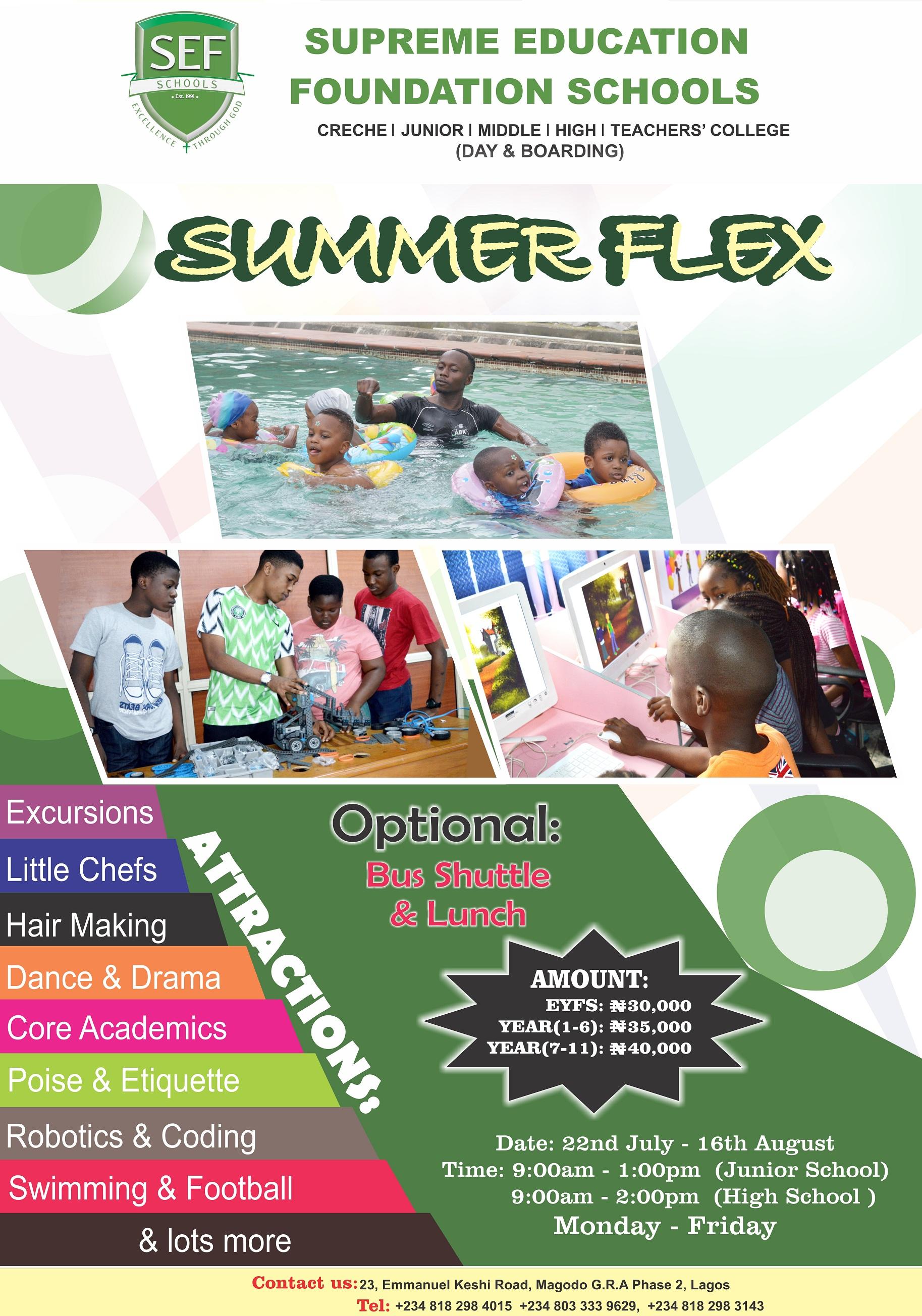 2019 SUMMER FLEX